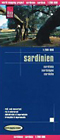 Straßenkarte Sardinien